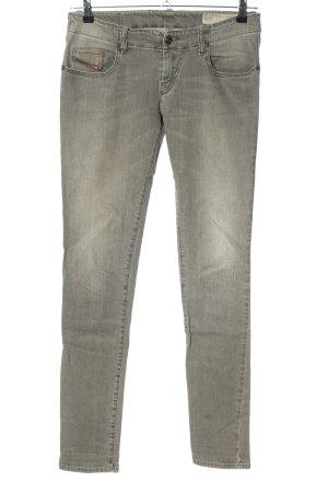 Diesel Skinny Jeans light grey casual look