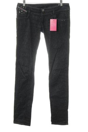 """Diesel Skinny Jeans """"Matic"""" schwarz"""