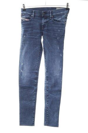 """Diesel Skinny Jeans """"Getlegg"""" blau"""