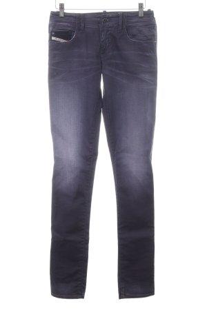 Diesel Skinny Jeans lila Casual-Look