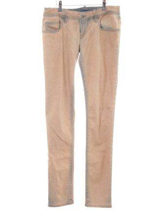 Diesel Skinny Jeans apricot-stahlblau Casual-Look
