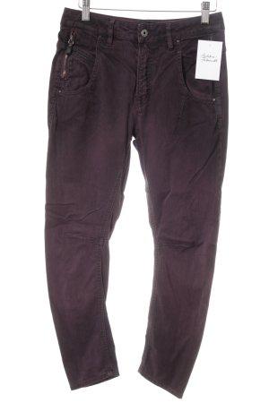 Diesel Skinny Jeans brombeerrot-purpur Casual-Look
