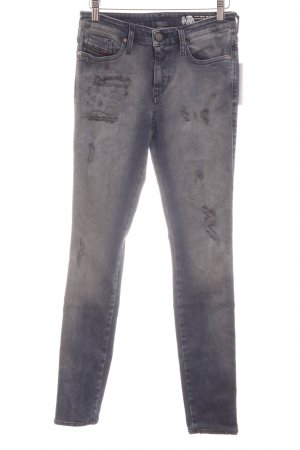 Diesel Skinny Jeans graublau-blassblau