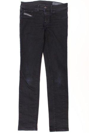 Diesel Skinny Jeans Größe W28 schwarz