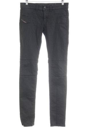 Diesel Skinny Jeans schwarz Business-Look