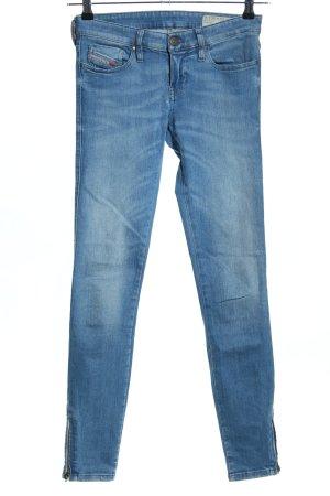 """Diesel Skinny Jeans """"Skinzee-Low-Zip"""" blau"""