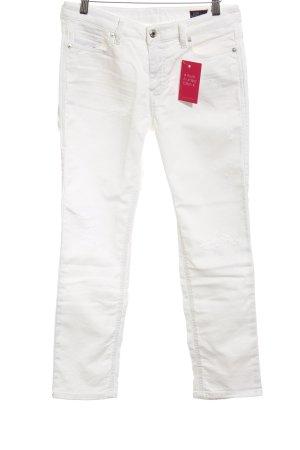 Diesel Skinny Jeans weiß Casual-Look