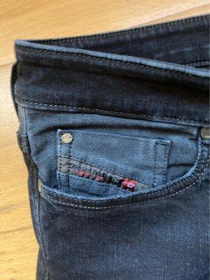 Diesel- Skinzee-Low-Jeans  (dunkel- dunkel- blau)