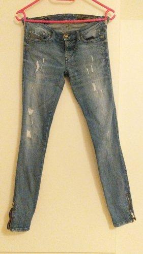 Diesel Skinzee Low Zip Jeans Gr 25