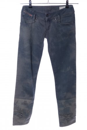 Diesel Slim Jeans blau Street-Fashion-Look