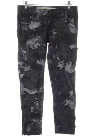 Diesel Slim Jeans Camouflagemuster Casual-Look