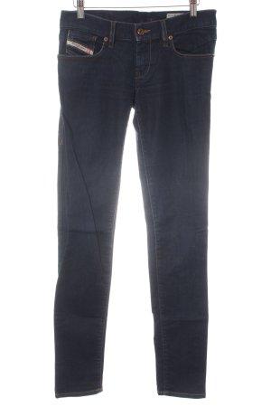 Diesel Slim Jeans dunkelblau Casual-Look