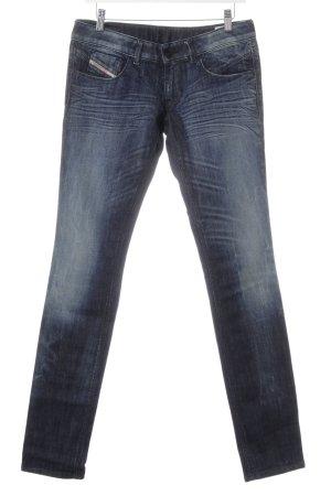 Diesel Slim Jeans dunkelblau Vintage-Look