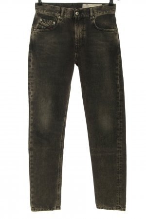 Diesel Slim Jeans braun Casual-Look