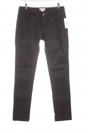 Diesel Slim Jeans/ festere Stoffhose in schwarz Size 29