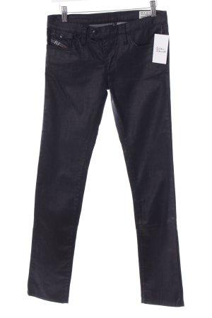 Diesel Slim Jeans schwarz Casual-Look