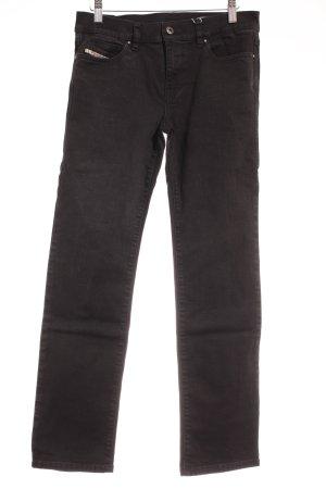 Diesel Slim Jeans schwarz klassischer Stil
