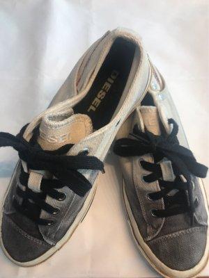 Diesel Industry Lace-Up Sneaker cream-grey
