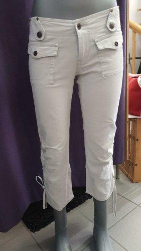 Diesel Pantalone a 3/4 grigio chiaro