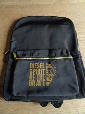 Diesel Spirit of the Brave Rucksack, Neu/OVP,Tasche,schwarz/gold