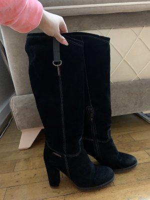 Diesel Stiefel Blockabsatz Leder