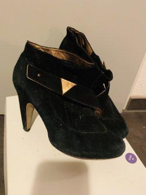 Diesel * Stiefelette * Leder * Boots * schwarz * Gr 38 * NP 279€