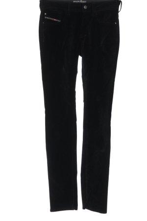 Diesel Jersey Pants black casual look