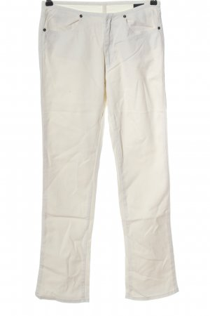 Diesel Jersey Pants natural white casual look