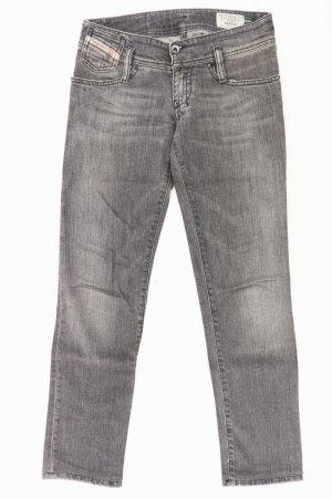 Diesel Straight Jeans Größe W25 grau