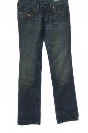 Diesel Jeansy z prostymi nogawkami niebieski W stylu casual