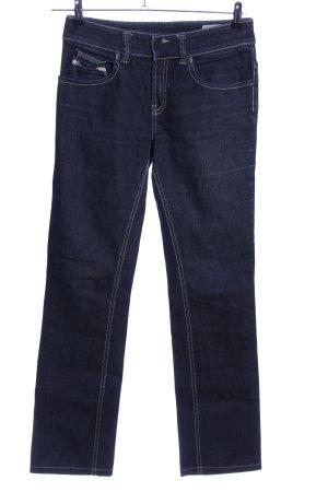 Diesel Jeans coupe-droite bleu style décontracté