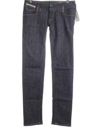 """Diesel Jeansy z prostymi nogawkami """"Matic"""" stalowy niebieski"""