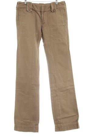 Diesel Jeansy z prostymi nogawkami nude W stylu casual
