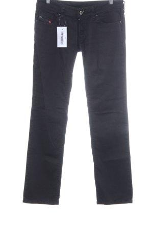 Diesel Straight-Leg Jeans taupe Street-Fashion-Look