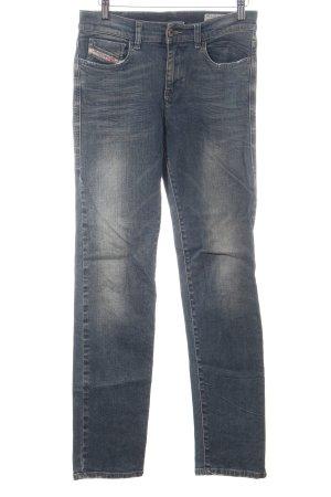 Diesel Stretch Jeans hellgrau schlichter Stil