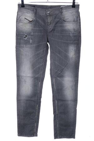 Diesel Stretch jeans lichtgrijs casual uitstraling