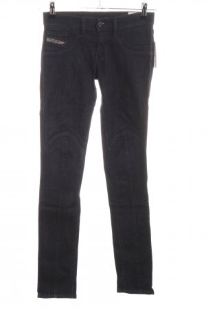 Diesel Stretch Jeans schwarz Casual-Look