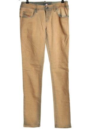 Diesel Jeans stretch orange clair style décontracté