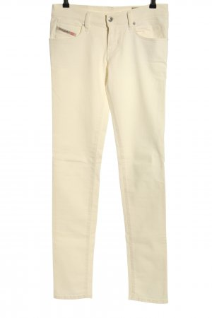 Diesel Jeans stretch crème style décontracté