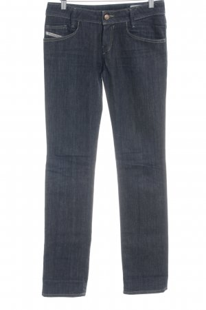 Diesel Stretch Jeans dunkelblau Casual-Look