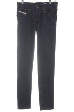 Diesel Stretch Jeans dunkelblau schlichter Stil
