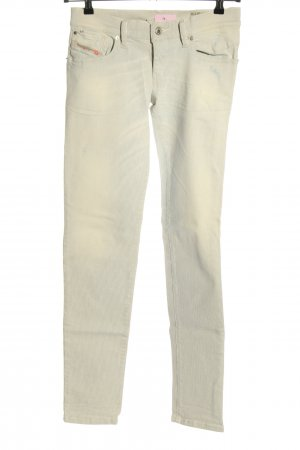 Diesel Stretch Jeans hellgrau-creme Casual-Look