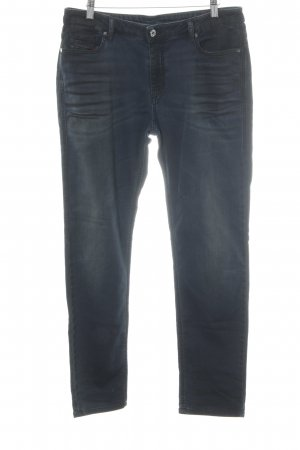 Diesel Stretch Jeans graubraun-dunkelblau Street-Fashion-Look