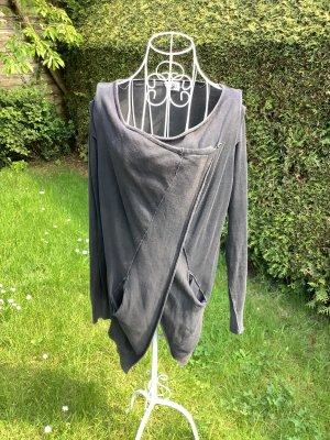Diesel Giacca in maglia grigio scuro Cotone
