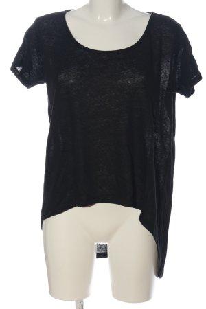 Diesel Strickshirt schwarz meliert Casual-Look