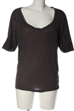 Diesel T-shirts en mailles tricotées noir style décontracté
