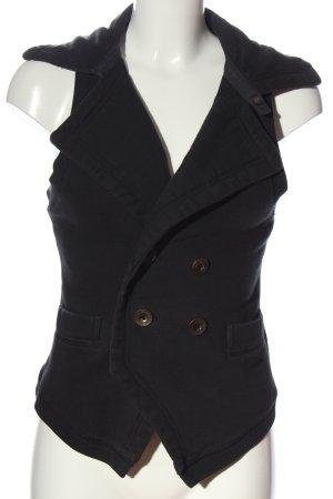 Diesel Gilet tricoté noir style décontracté