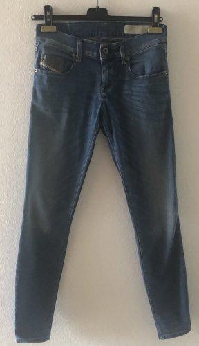 Diesel Super Slim-Skinny Jeans Low Waist