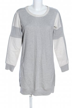 Diesel Sweat Dress light grey-natural white flecked casual look