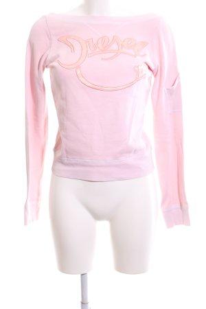 Diesel Sweatshirt pink-hellorange Casual-Look